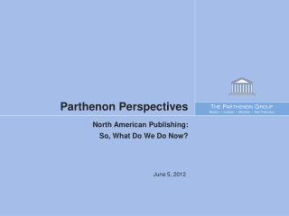 Parthenon Perspectives