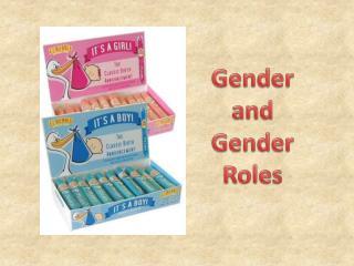 Gender and Gender Roles