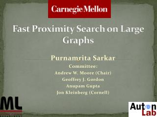 Fast Proximity Search on Large Graphs