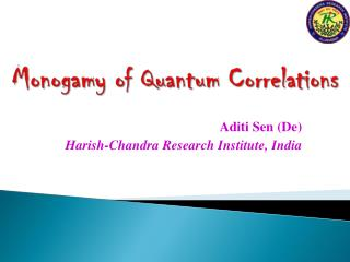 Monogamy of Quantum Correlations