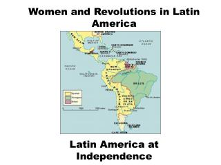 Women and Revolutions in Latin America