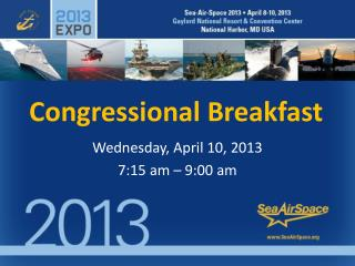 Congressional Breakfast