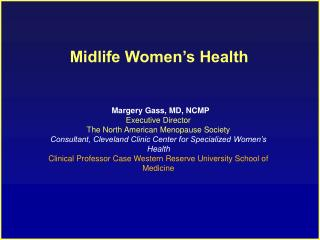 Midlife Women's Health