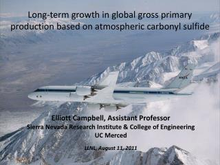 Long-term growth in global gross primary production based on atmospheric carbonyl sulfide