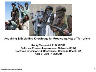 Acquiring & Exploiting Knowledge for Predicting Acts of Terrorism