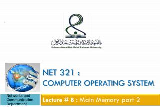 Net 321 : Computer Operating System