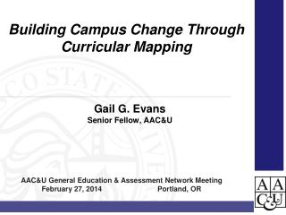 Gail  G.  Evans Senior Fellow, AAC&U