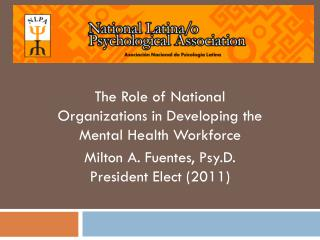 The Role of National Organizations in Developing the Mental Health Workforce