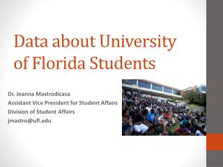 Data about University of Florida Students