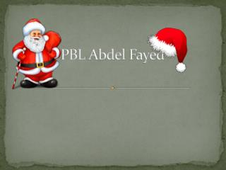 PBL  Abdel  Fayed