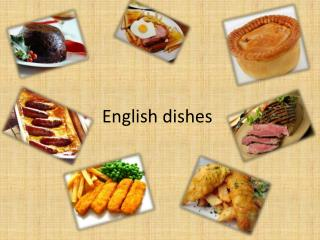 English dishes