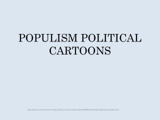 POPULISM POLITICAL CARTOONS