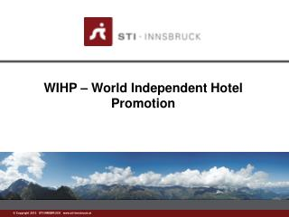 WIHP  – World Independent Hotel Promotion