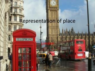 Representation of place