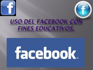 Uso del facebook con fines educativos.
