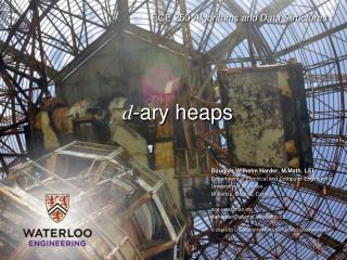 d - ary  heaps