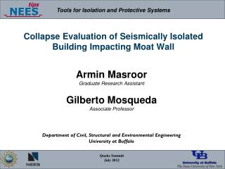 Collapse Evaluation of Seismically Isolated Building Impacting Moat Wall