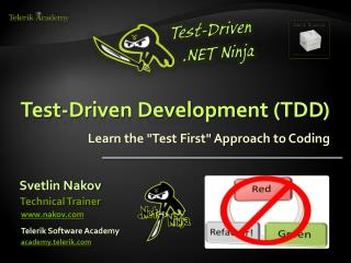 Test-Driven Development (TDD)