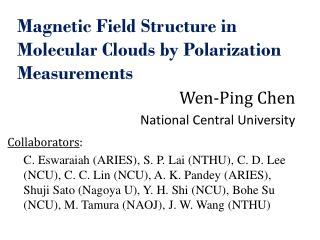 Magnetic Field Structure in Molecular Clouds by Polarization Measurements