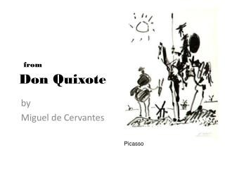 from Don Quixote