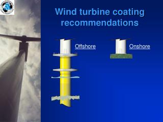 Wind turbine coating recommendations