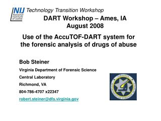 DART Workshop – Ames, IA August 2008
