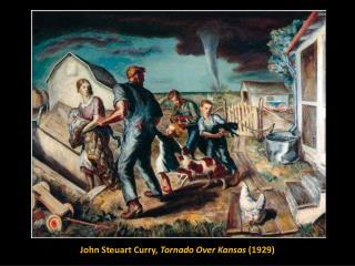 John Steuart Curry, Tornado Over Kansas (1929)