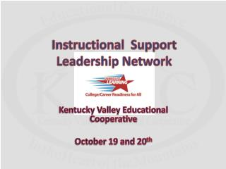 Instructional  Support Leadership Network