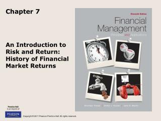 An Introduction to Risk and Return: History of Financial Market Returns