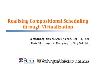 Realizing Compositional Scheduling through Virtualization