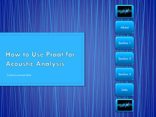How to Use Praat for Acoustic Analysis