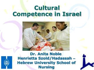 Cultural Competence in Israel