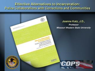 Effective Alternatives to Incarceration: Police Collaborations with Corrections and Communities