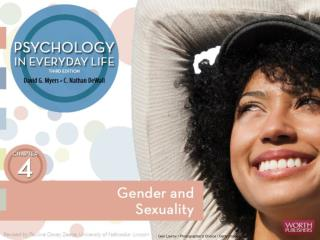 Gender and Sexuality Gender development Human sexuality Sexual orientation: why do we differ?