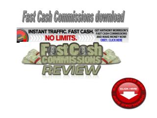 Fast Cash Commissions download