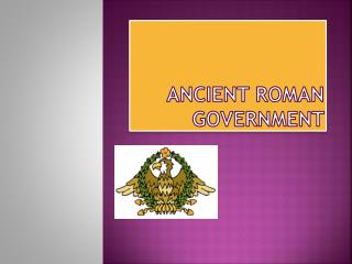 Ancient Roman Government
