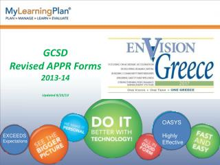 GCSD  Revised APPR Forms 2013-14 Updated 8/23/13