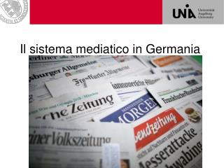 Il sistema mediatico in Germania