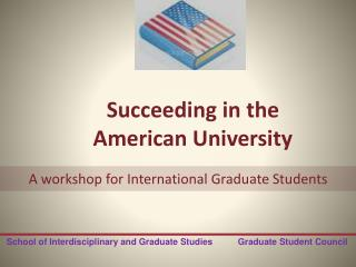 Succeeding in the American University