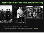 Theories about Social Forms of Remembering