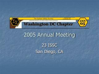 2005 Annual Meeting