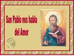 SAN PABLO NOS HABLA DEL AMOR. PRIMERA CARTA A LOS CORINTIOS ...