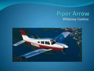 Piper Arrow