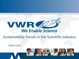 Sustainability  Trends  in the Scientific Industry