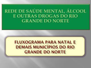FLUXOGRAMA PARA NATAL E DEMAIS MUNICÍPIOS DO RIO GRANDE DO NORTE