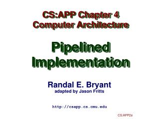 Randal E. Bryant adapted by Jason  Fritts