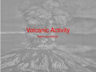 factors determining the severity of volcanic