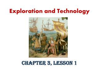 Exploration and Technology
