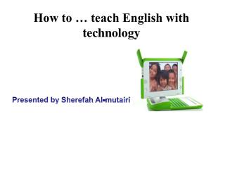 How to … teach English with technology