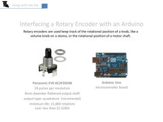 Interfacing a Rotary Encoder with an Arduino